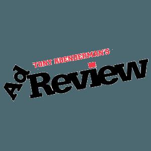 Tony Koenderman's Ad Review logo